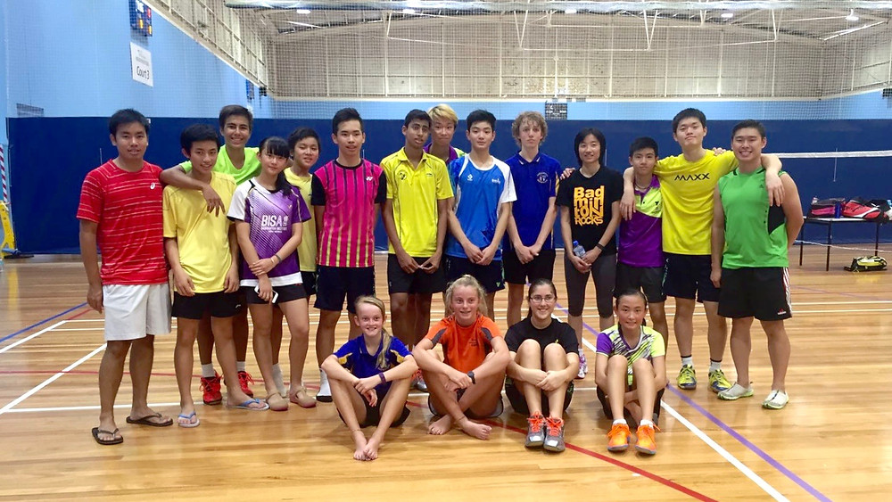 Training Camp for the Badminton Australia National Junior Squad – U17s Youth Development Division with Lenny Permana