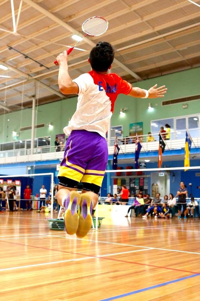 Elton Zhang Jump Smashes