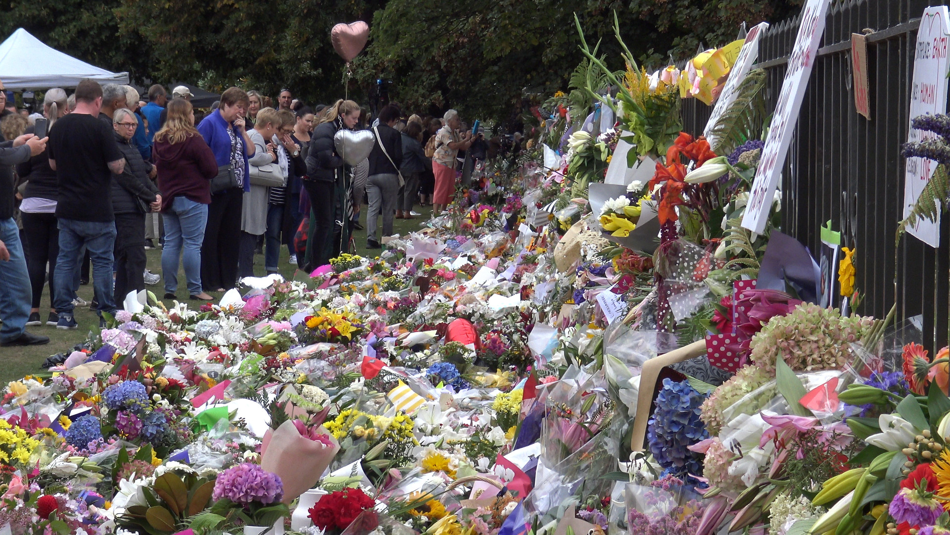 Christchurch Shootings Memorials