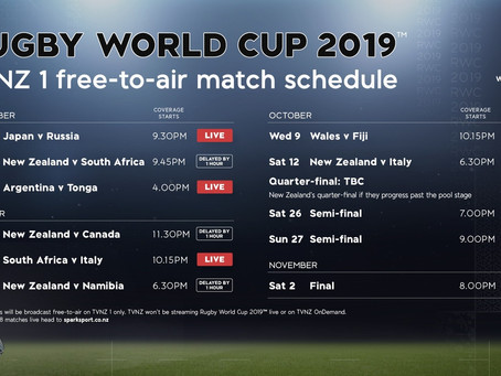 How to Watch the Rugby World Cup in New Zealand