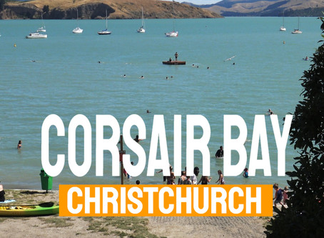 Explore Christchurch, Corsair Bay
