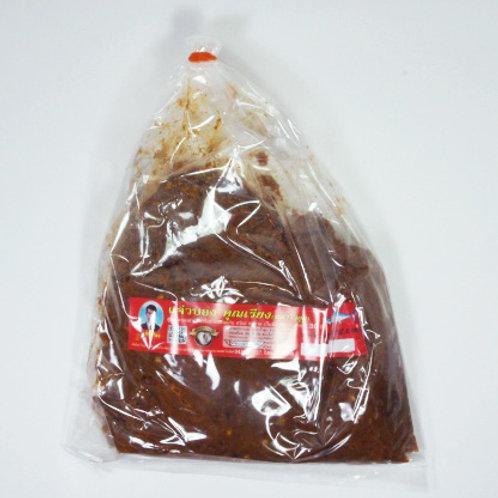 แจ่วบอง(ปลาร้าสุก) ชนิดถุง 500 กรัม