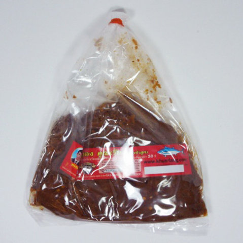 แจ่วบอง(ปลาร้าสุก) ชนิดถุง 200 กรัม
