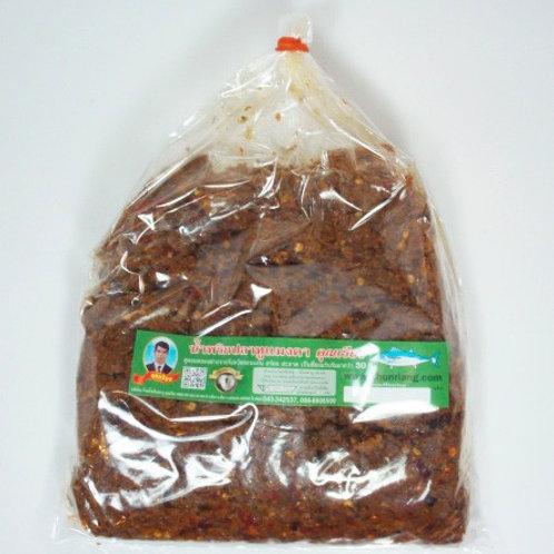 น้ำพริกปลาทูแมงดา ชนิดถุง 400 กรัม