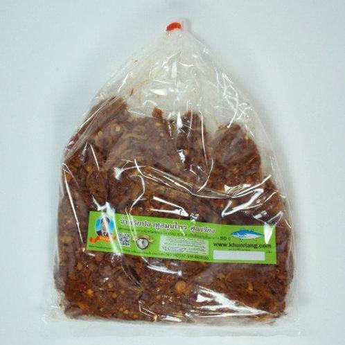 น้ำพริกปลาทูสมุนไพร ชนิดถุง 500 กรัม