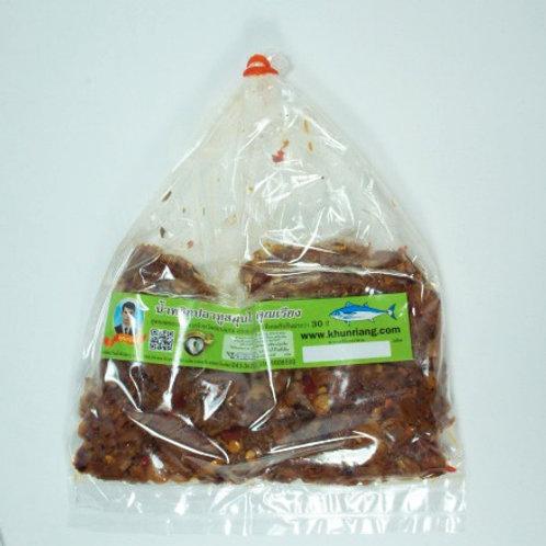 น้ำพริกปลาทูสมุนไพร ชนิดถุง 100 กรัม