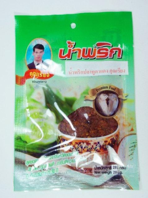 น้ำพริกปลาทูตาแดง ชนิดซอง 22 กรัม