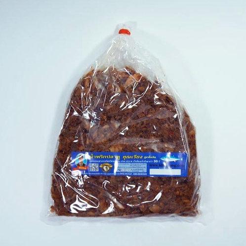น้ำพริกปลาทู(รสดั้งเดิม) ชนิดถุง 200 กรัม