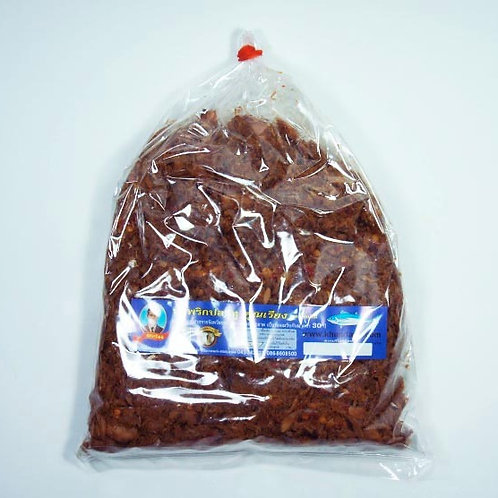 น้ำพริกปลาทู(รสดั้งเดิม) ชนิดถุง 400 กรัม