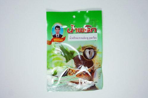 น้ำพริกมะขามปลาทู ชนิดซอง 22 กรัม