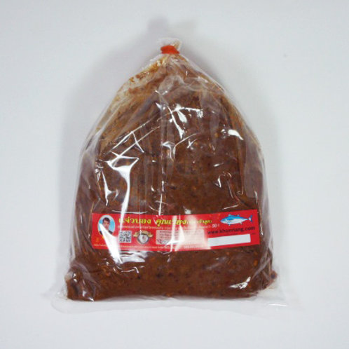 แจ่วบอง(ปลาร้าสุก) ชนิดถุง 1000 กรัม