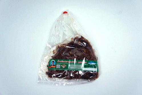 น้ำพริกปลาทูแมงดา ชนิดถุง 100 กรัม