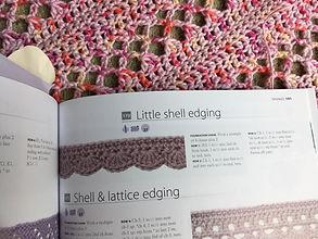 Crocheted blanket edging.JPG