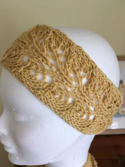 Old gold headband