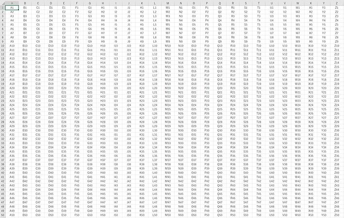 Excelの大きい表を素早く選択する