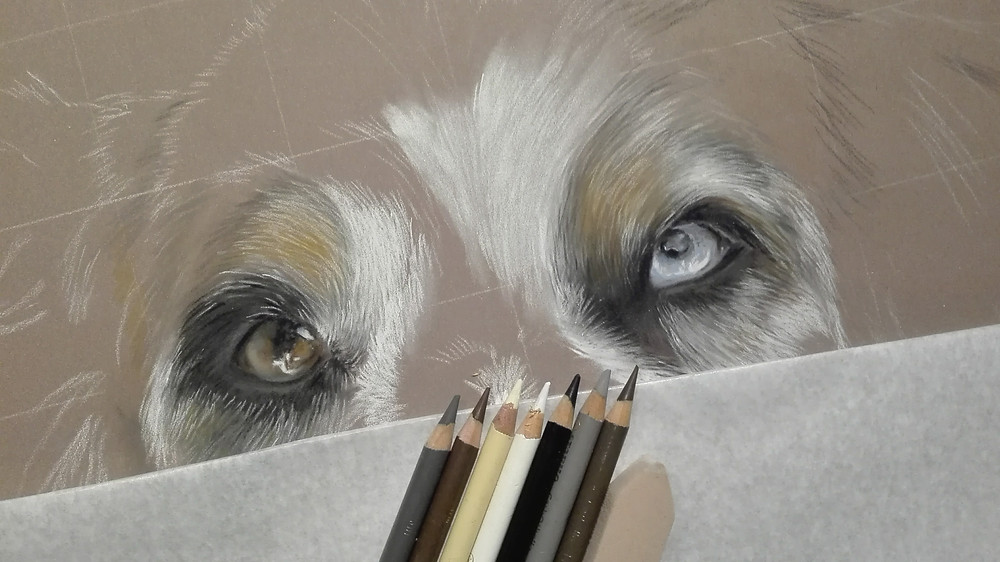 Augenzeichnung Work in Progress