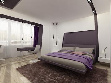 Спальня. Свет и цвет