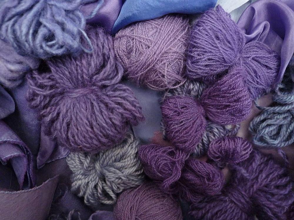 Крашенная пурпуром шерсть