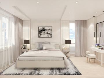 Спальня. Бежевая глазурь