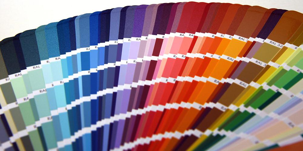 Веер краски
