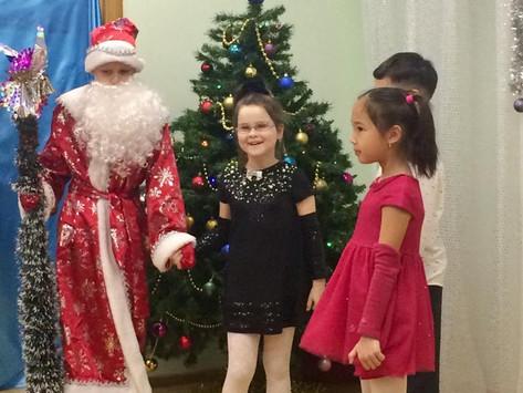 Новогодние приключения учеников Международной школы