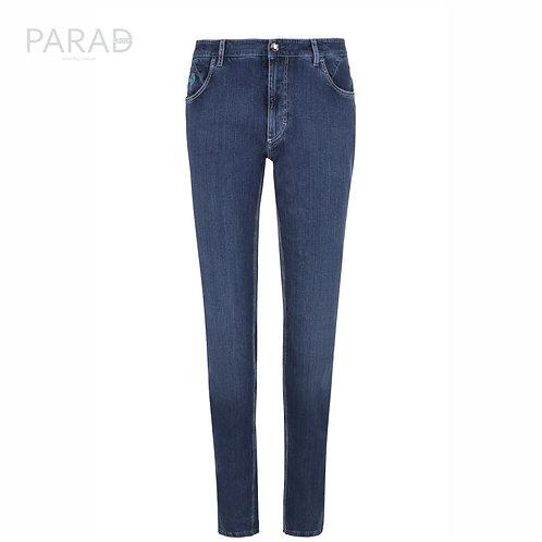 ZILLI джинсы прямого кроя с контрастной прострочкой
