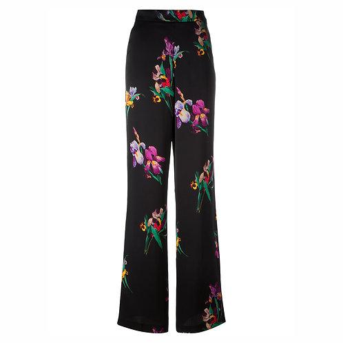 ETRO широкие брюки с принтом IRIS