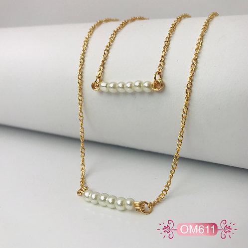 OM611-Collar en Oro Goldfield