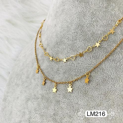 LM216 - Collar en Oro Goldfield