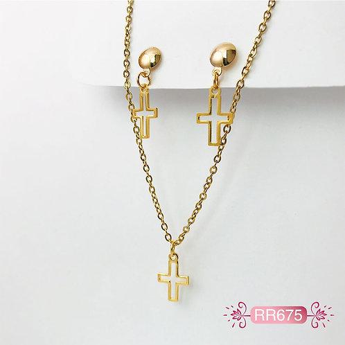 RR675 - Collar en Oro Goldfield
