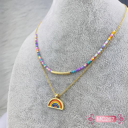 MC267-Collar en Oro Goldfield