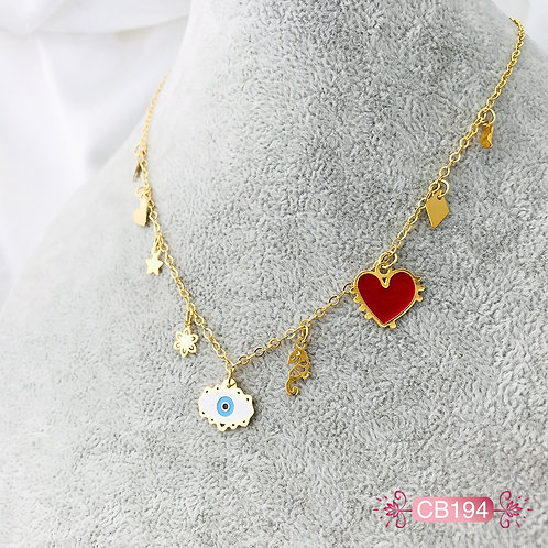 CB194- Collar en Oro Goldfield