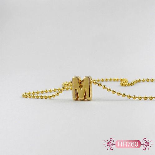 RR760 - Collar en Oro Goldfield