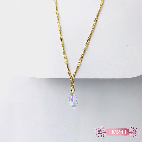 LM241 - Collar en Oro Goldfield