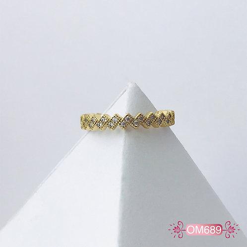 OM689- Anillo Midi Covergold