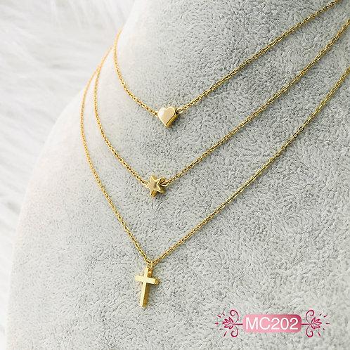 MC202-Collar en Oro Goldfield