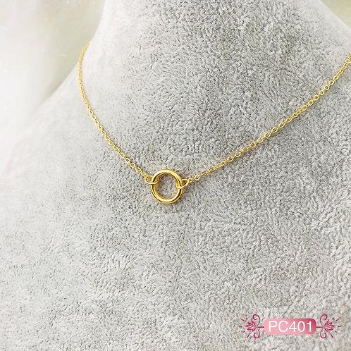 PC401-Collar en Oro Goldfield