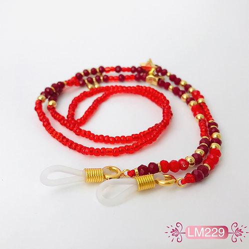 LM229 - Collar para gafas en Oro Goldfield