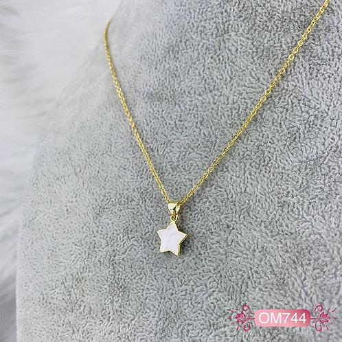OM744 - Collar en Oro Goldfield