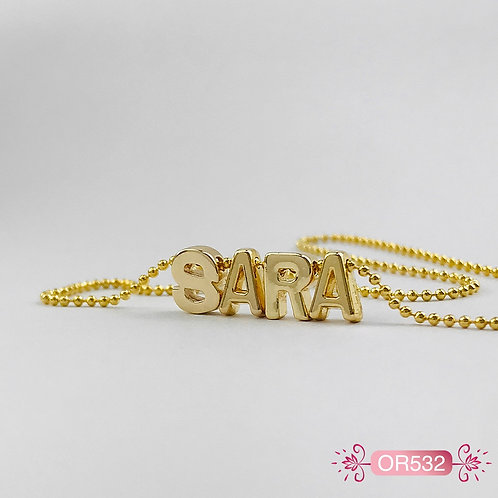 OR532 - Collar en Oro Goldfield