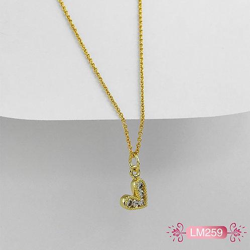 LM259 - Collar en Oro Goldfield