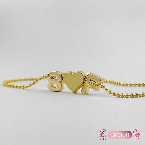 LM300 - Collar en Oro Goldfield