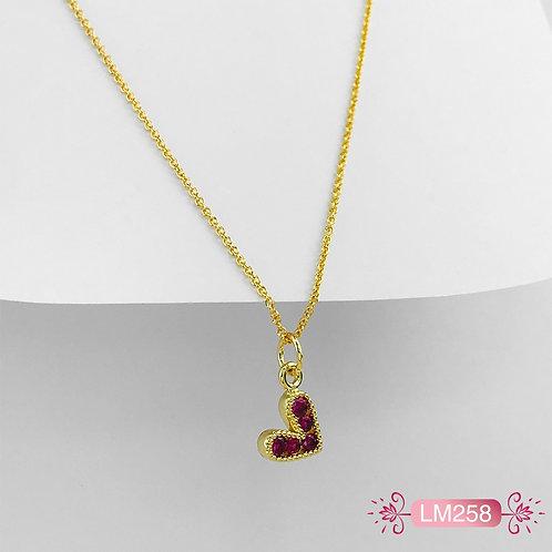 LM258 - Collar en Oro Goldfield