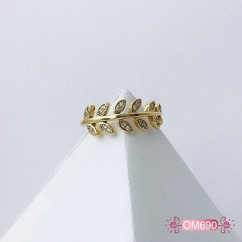 OM690- Anillo Midi Covergold