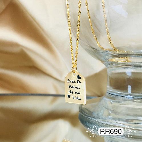 RR690 - Collar en Oro Goldfield
