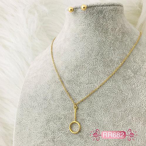 RR682 - Collar en Oro Goldfield