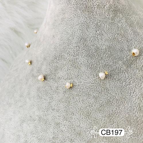 CB197- Collar en Oro Goldfield