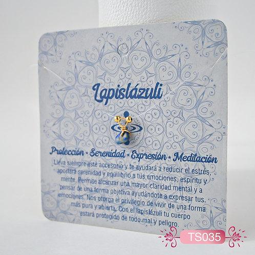 TS035 Collar Invisible Lapislázuli