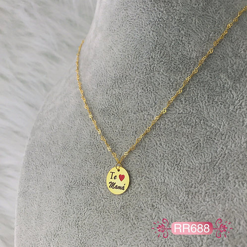 RR688 - Collar en Oro Goldfield