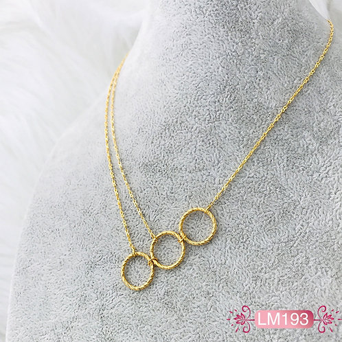 LM193 - Collar en Oro Goldfield
